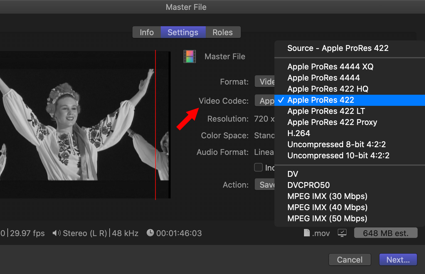 Fcp X Export The Best Image Quality Using Prores Larry Jordan